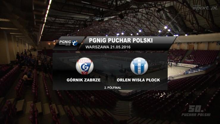Górnik Zabrze - Orlen Wisła Płock 27:29. Skrót meczu