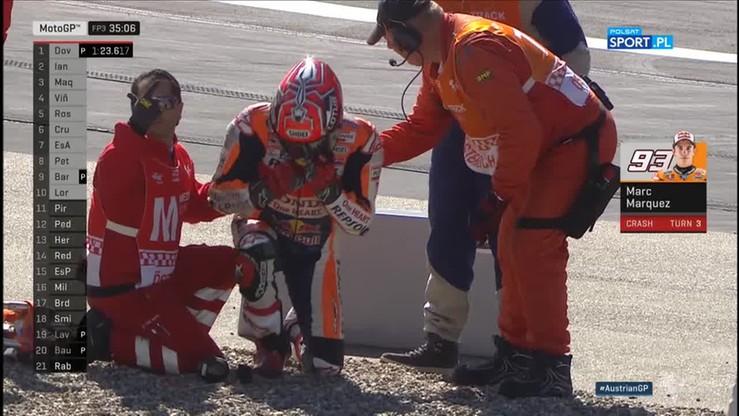 Wypadek Marqueza. Pedroso cudem uniknął...