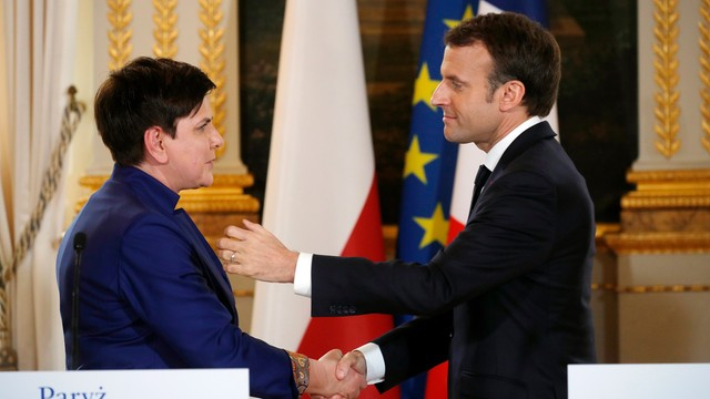 Po spotkaniu Szydło-Macron. Rozmowy o reformie UE i zmianach w sądownictwie w Polsce
