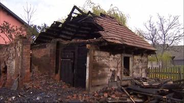 25-04-2016 11:01 Tragiczny pożar koło Skierniewic. Zginęli ludzie