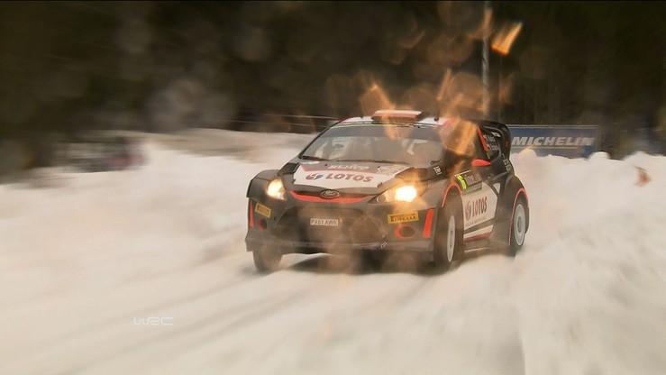 Kubica już bardzo szybki - shakedown przed Rajdem Szwecji