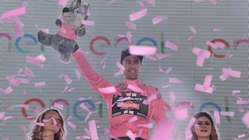 Giro d'Italia: Dumoulin wygrał czasówkę, dobra jazda polskiego debiutanta