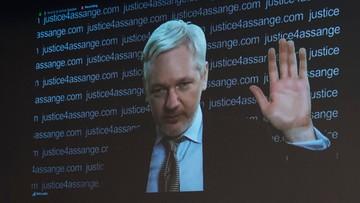 Assange chce opuścić ambasadę Ekwadoru. Apeluje, by mógł  to uczynić swobodnie