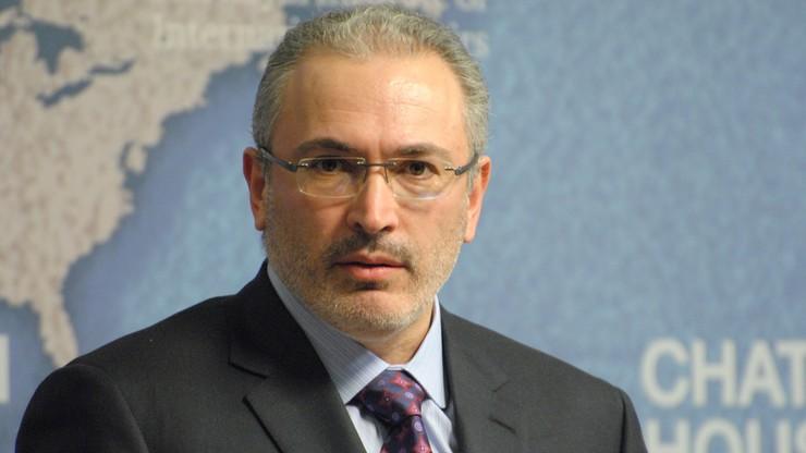 """Chodorkowski znów na liście najbogatszych """"Forbes"""""""