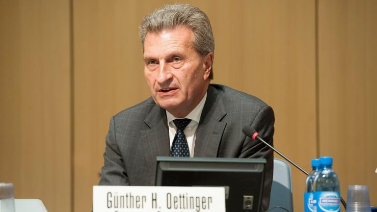 Oettinger proponuje spotkanie Ziobrze