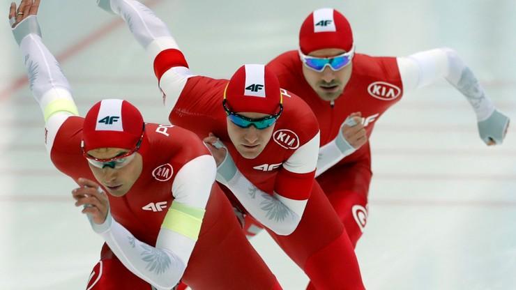 ME w łyżwiarstwie szybkim: Dwa brązowe medale polskich drużyn