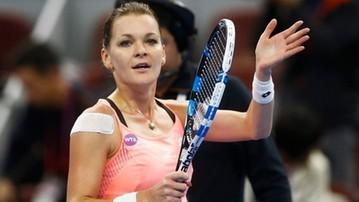 2017-08-15 WTA w Cincinnati: Radwańska pożegnała się z turniejem w pierwszej rundzie