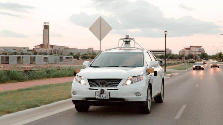 Google: nasz samochód autonomiczny miał wypadek z własnej winy