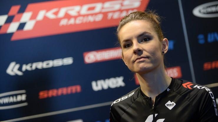 Maja Włoszczowska ciężko trenuje i promuje Igrzyska Europejskie