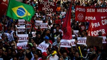 01-04-2017 07:07 Wielotysięczne demonstracje w Brazylii przeciwko polityce oszczędności