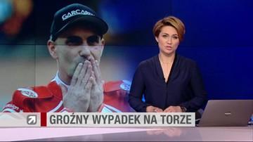 """2017-04-23 Tomasz Gollob może być sparaliżowany. Materiał """"Wydarzeń"""" Polsat News"""