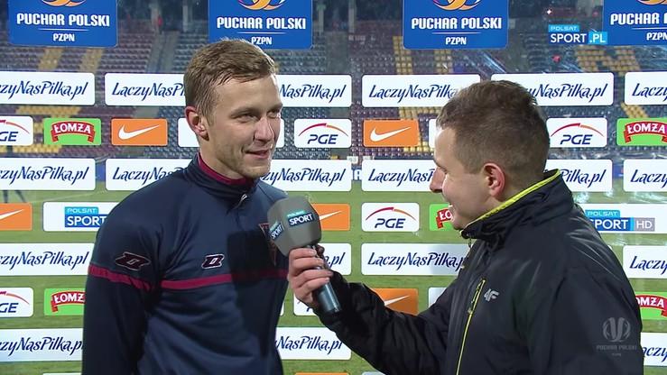 Drygas: Mecz z Puszczą był dla nas najważniejszy w tym roku