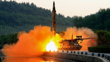 09-06-2017 05:41 Korea Płn.: sukces próby z pociskami klasy ziemia-woda