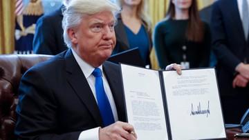 24-01-2017 20:35 Trump wznawia projekty kontrowersyjnych ropociągów