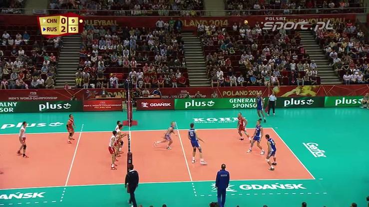 Chiny - Rosja 0:3. Skrót meczu