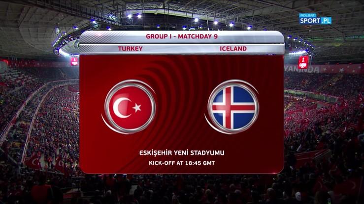 2017-10-07 El. MŚ 2018: Turcja - Islandia 0:3. Skrót meczu