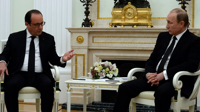 Hollande w Moskwie wzywa do budowy wielkiej koalicji przeciwko IS