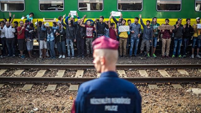 Imigranci z dworca Keleti: pójdziemy na piechotę do Wiednia