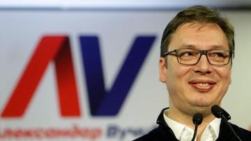 03-04-2017 05:12 Vuczić: Serbowie głosowali za integracją z UE, ale także za bliskimi relacjami z Rosją