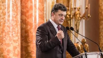 11-09-2017 13:11 Poroszenko chce ukarania odpowiedzialnych za incydent z Saakaszwilim