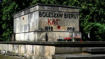 02-08-2016 18:09 Zdewastowany grób Bieruta. Ziobro zażądał zwolnienia zatrzymanych