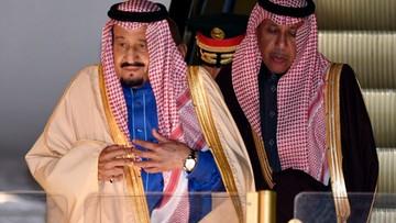 12-03-2017 17:21 1000-osobowa świta i ponad 400 ton bagażu. Król Arabii Saudyjskiej w podróży