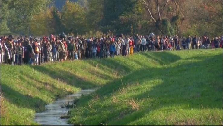Słowenia chce wsparcia policyjnego UE na granicy z Chorwacją
