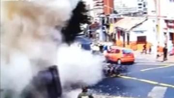 20-02-2017 07:51 Wybuch podczas protestu przeciw walkom byków. Jedna osoba nie żyje