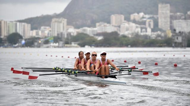 Rio: Polki wywalczyły brązowy medal w wioślarskiej czwórce podwójnej