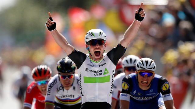 Tour de France - Mark Cavendish pierwszym liderem