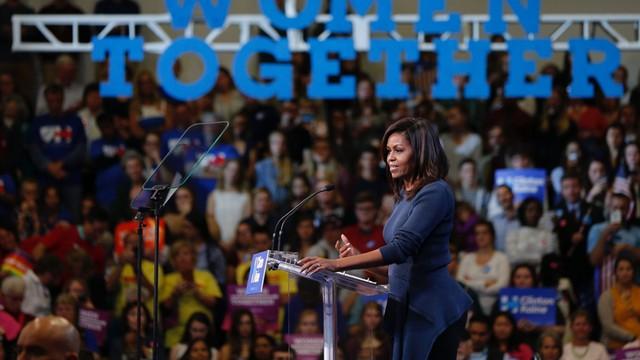 USA: Michelle Obama ostro atakuje Trumpa za stosunek do kobiet