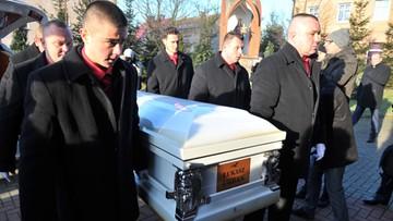 30-12-2016 14:09 Pogrzeb Łukasza Urbana, kierowcy ciężarówki, który zginął w zamachu w Berlinie