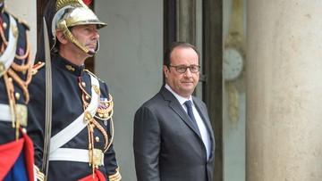 30-08-2016 14:08 Hollande o tureckich działaniach w Syrii: grożą zaognieniem sytuacji