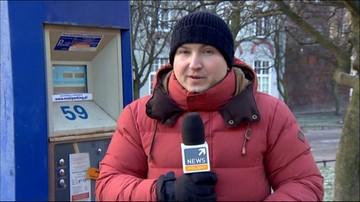 Zmroziło parkomaty w Gdańsku. Nie działają