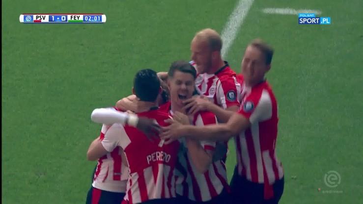 PSV - Feyenoord 1:0. Skrót meczu