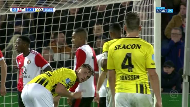 Niekonwencjonalny rzut rożny na wagę remisu z Feyenoordem