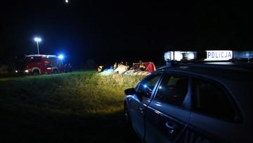 07-07-2017 10:03 Motolotnia spadła na ziemię. Zginęły dwie osoby