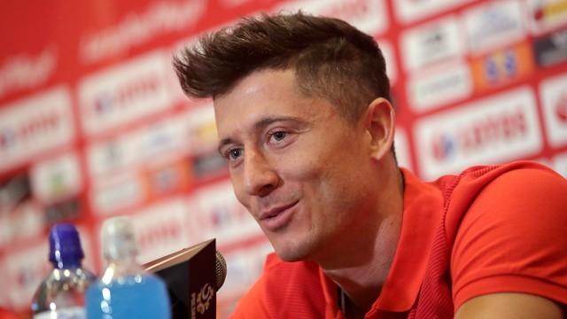 Lewandowski: ani razu nie rozmawialiśmy o turnieju w Rosji