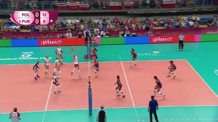 Polska - Portoryko 3:1. Skrót meczu