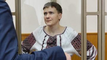 03-03-2016 16:12 Rosja: Sawczenko zaostrza głodówkę. Nie będzie przyjmować napojów