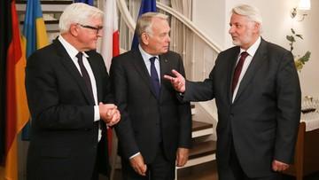 14-09-2016 21:25 Steinmeier: najbliższej nocy w Donbasie wejdzie w życie rozejm