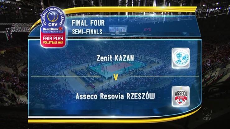 2016-04-16 Asseco Resovia - Zenit Kazań 1:3. Skrót meczu