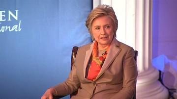03-05-2017 07:07 Hillary Clinton: gdyby nie list szefa FBI, wygrałabym wybory