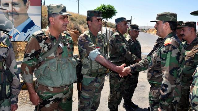 Syria: wojska rządowe i Hezbollah kontrolują region przy granicy z Libanem