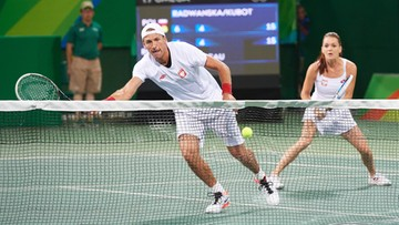 """12-08-2016 05:14 Rio: Radwańska i Kubot odpadli w mikście. """"Za szybko to się skończyło"""""""