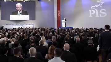 """01-07-2017 13:27 """"Idziemy we właściwym kierunku, realizujemy prawa Polaków"""". Kongres PiS i konwencja Zjednoczonej Prawicy"""