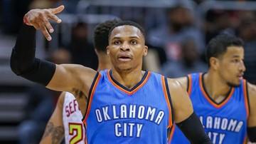 2016-12-10 NBA: Westbrook wyrównał osiągnięcie Jordana