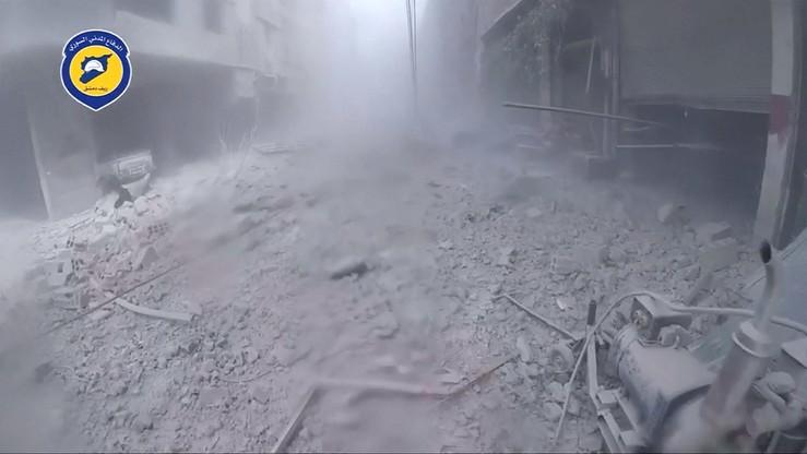 Rozpoczęto ewakuację rebeliantów spod Damaszku