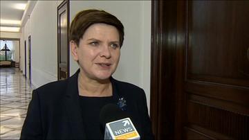 Beata Szydło: Chcemy, by rząd został powołany w przyszłym tygodniu