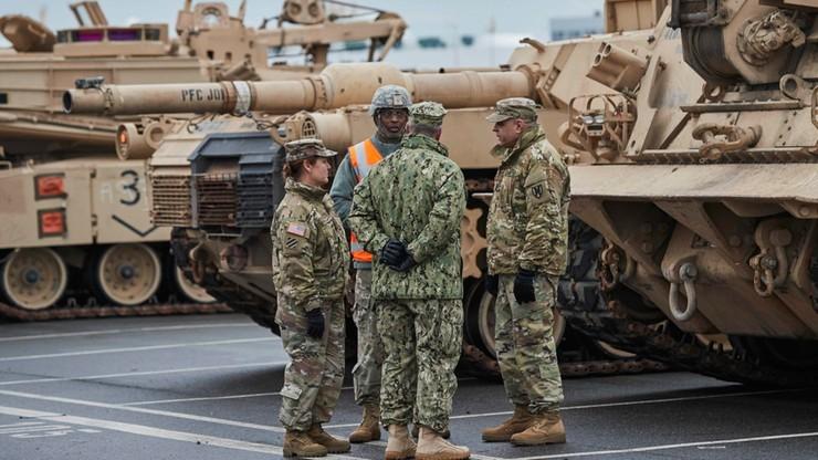 NATO: amerykańskie czołgi w Europie są odpowiedzią na działania Rosji